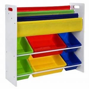 Rangement Livre Enfant : meuble de rangement pour jouets et livres chambre d enfant ~ Farleysfitness.com Idées de Décoration