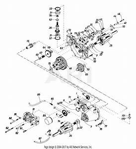 Mtd 143w834h401  1993  Parts Diagram For Transaxle