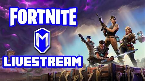 fortnite thumbnail new update survive the let s play fortnite livestream gameplay macghriogair