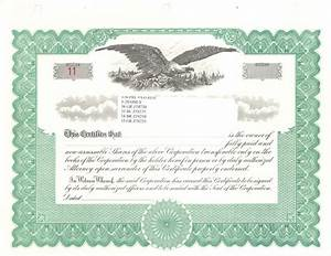 9 best images of free blank stock certificate form blank With blank share certificate template free