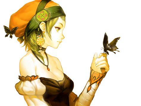 Render Anime Butterfly Girl By Skiadrum 94 On Deviantart