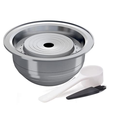 The handy gourmet reusable coffee pods allow you to enjoy the convenience of single serve coffee, espresso, tea, or cocoa without the expense. 70ML Stainless Steel Reusable Coffee Filter Capsule Pod For NESPRESSO VERTUO - Walmart.com ...