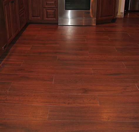 wood look tile kitchen wood ceramic tile would minimise the gap between these 1599