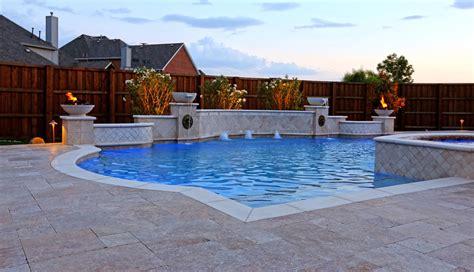 Pool Design by Dallas Geometric Pool Design Gallery Frisco Plano Pool
