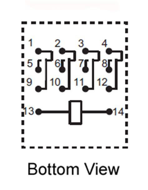 Pdt Vdc Pin Terminals Relay Technical Data
