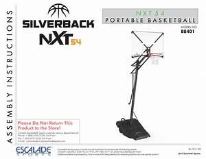 Silverback Nxt 54 U0026quot  Backboard Portable Height