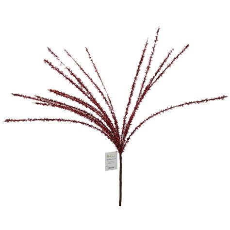 red christmas decorative sprays 72cm 69108