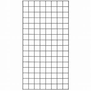 Black Economy Wire Grid Panel  2 U0026 39  X 4 U0026 39
