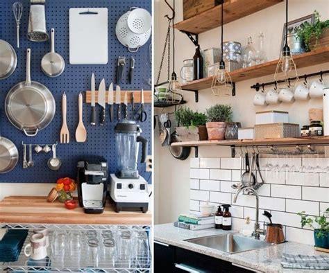 ingeniosas ideas  aprovechar el espacio en cocinas