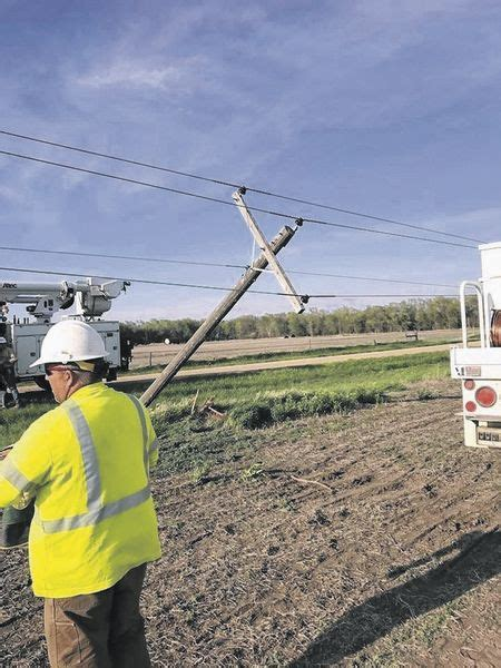 farm equipment hitting power infrastructure