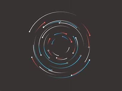 Particles Circles Effects Fun Motion Rule Dribbble