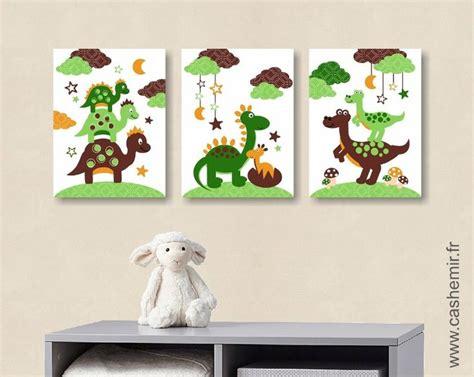 deco chambre dinosaure affiche pour chambre d 39 enfant et bébé garçon dinosaure