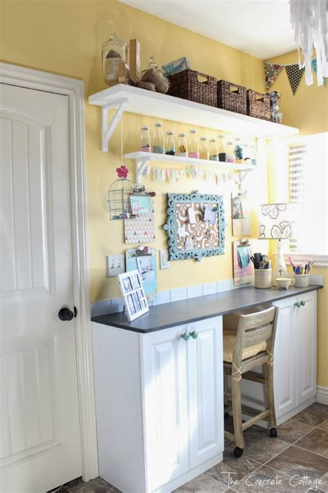The Concrete Cottage Craft Room Reveal