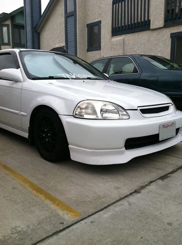 honda civic   vti edm front lip