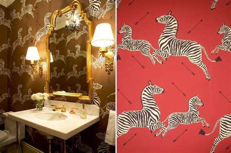 leopard bathroom wall decor home decorating inspiration scalamandre zebras