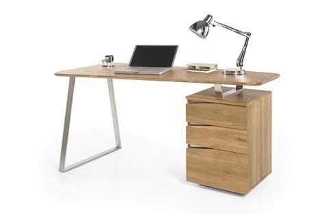 bureau informatique bois bureau d 39 ordinateur en bois massif novomeuble