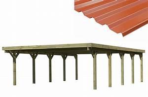 Carport adosse pas cher maison design wibliacom for Nice abri de jardin bois pas cher leroy merlin 2 carport 3 voitures bois