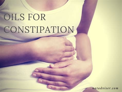 5 Best Essential Oils For Constipation Relief For Adults