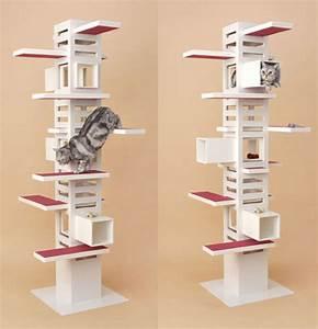 Arbre A Chat Moderne : le design selon quan un arbre chat est ce utile pourquoi pas ~ Melissatoandfro.com Idées de Décoration