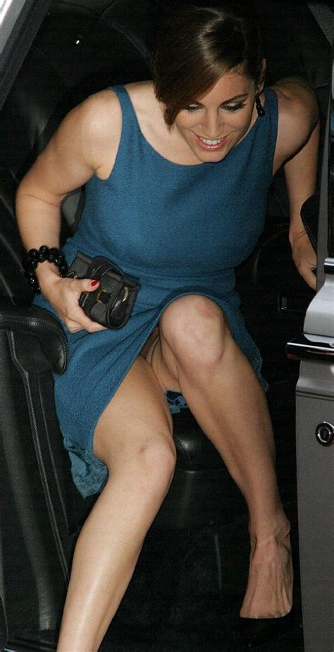 Kelly Brook, No Panties? Ah! The Getting Out Of The Car ...