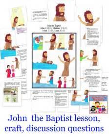 Kids John the Baptist Activities
