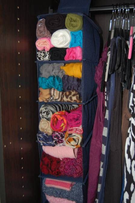 How To Organize Scarves In Your Closet by Best 25 Organize Scarves Ideas On Organizing