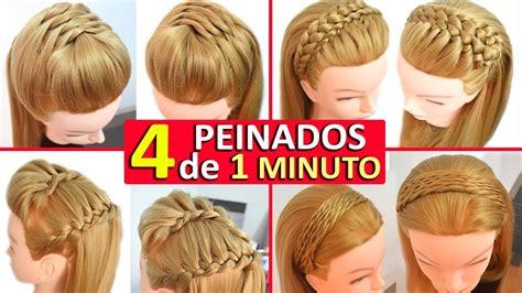 peinados casuales  cabello largo  trenzas diademas faciles  rapidos youtube