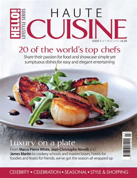 mag cuisine welcome to the edition of haute cuisine