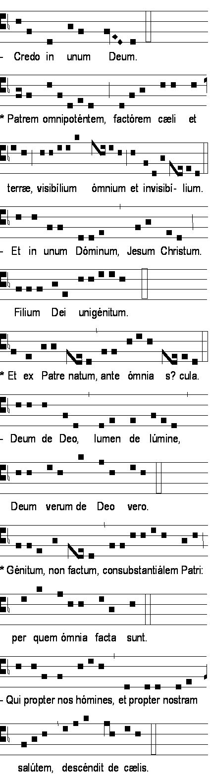 Chrétiens Magazine Credo In Unum Deum  Je Crois En Un