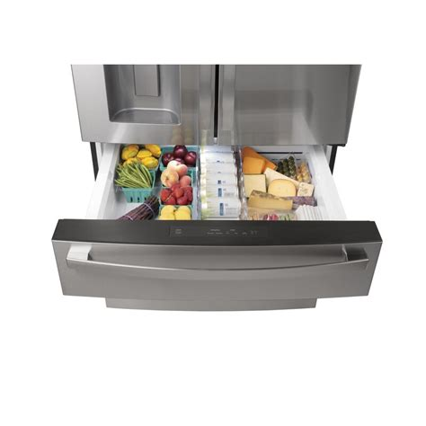 ge profile smart appliances  french door  cu ft energy star refrigerator reviews