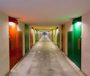 Le Corbusier Cité Radieuse Interieur : dans la r gion de metz toutes les couleurs de la cit radieuse de briey en for t galerie ~ Melissatoandfro.com Idées de Décoration