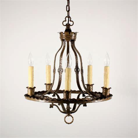brass chandeliers for sale handsome antique revival five light cast brass
