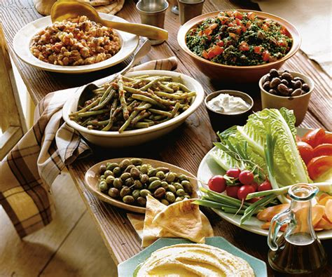 middle eastern buffet finecooking