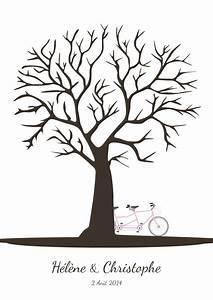 Arbre A Empreinte : arbre empreintes avec tandem organiser un mariage ~ Preciouscoupons.com Idées de Décoration