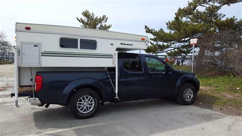 Fronty With Truck Camper Slide In