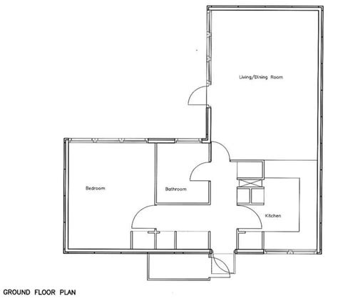 one bedroom floor plan open floor plans 1 bedroom 1 bedroom bungalow floor plans