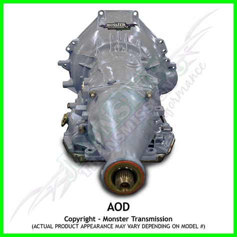 Ford Aod Transmission by Aod Transmission High Performance Race Transmission 2wd