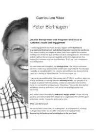 Entrepreneur Cv by Cv Berthagen 2014