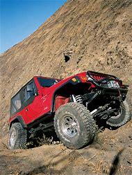Jeep Climb Mountain