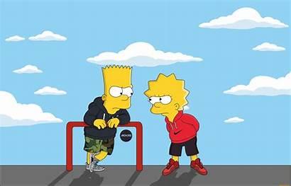 Simpsons Supreme Nike Wallpapers Lisa Adidas Simpson