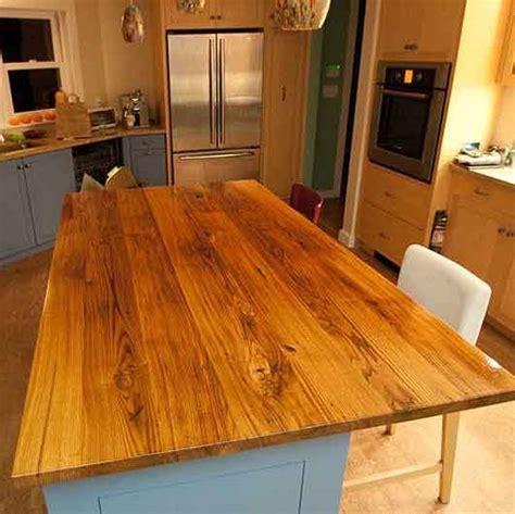 Longleaf Lumber   Reclaimed American Chestnut Counter Top