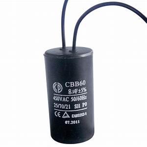 China Washing Machine Capacitor  Cbb60