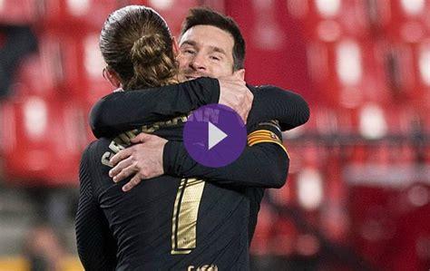 Granada 0-4 Barcelona: Griezmann and Messi continue Barca ...