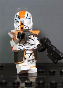 Clone Army Customs | Commando HOPE Orange | Lego star wars ...