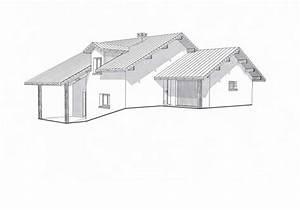 future maison en savoie demi niveau sur fort denivelle With maison demi niveau plan 8 plan de maison romaine