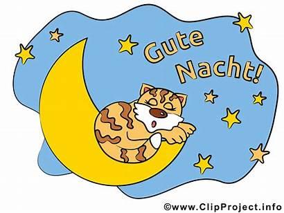 Nacht Clipart Gute Natt God Nuit Bonne