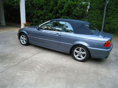 2003 Bmw 325ci Convertible by Purchase Used 2003 Bmw 325ci Convertible In Greensboro