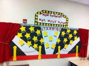Hollywood Theme Classroom Bulletin Boards