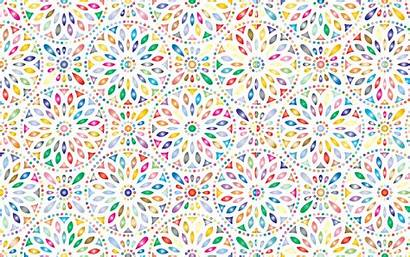 Pattern Background Flowery Prismatic Clipart Shutterstock