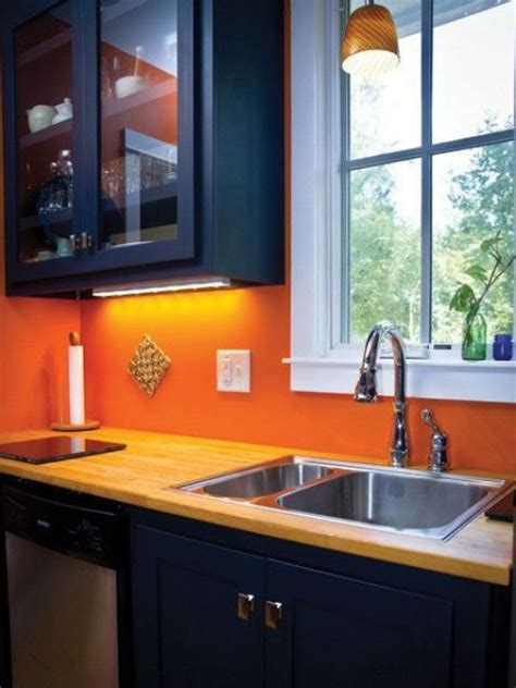 Ideas For An Orange Kitchen by 27 Cheerful Orange Kitchen Decor Ideas Digsdigs